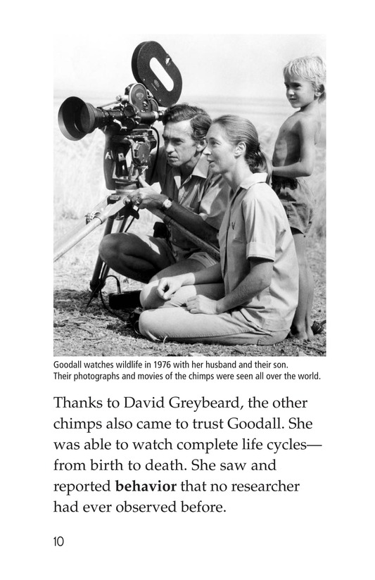 Book Preview For Jane Goodall Page 10