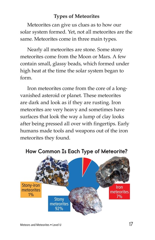 Book Preview For Meteors and Meteorites Page 17