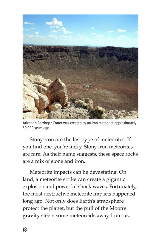Book Preview For Meteors and Meteorites Page 18