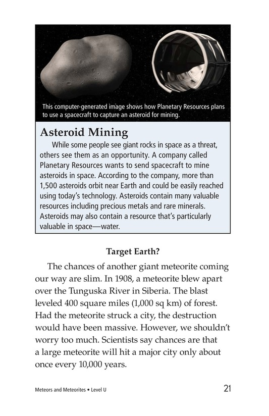 Book Preview For Meteors and Meteorites Page 21