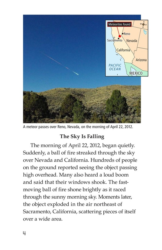 Book Preview For Meteors and Meteorites Page 4
