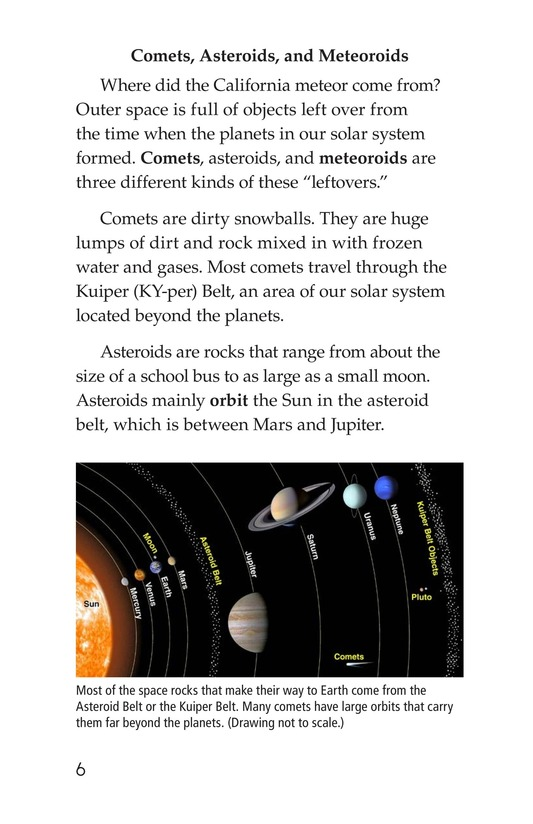 Book Preview For Meteors and Meteorites Page 6