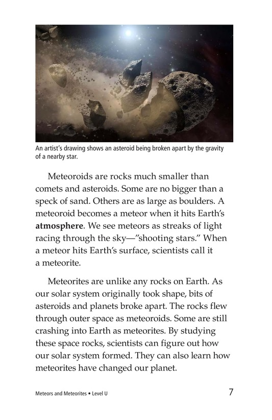 Book Preview For Meteors and Meteorites Page 7