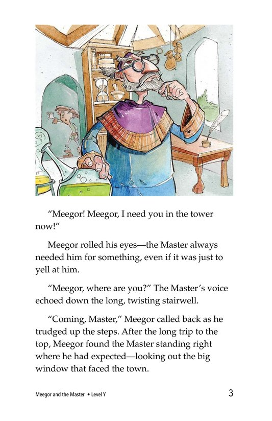 Book Preview For Meegor and the Master Page 3