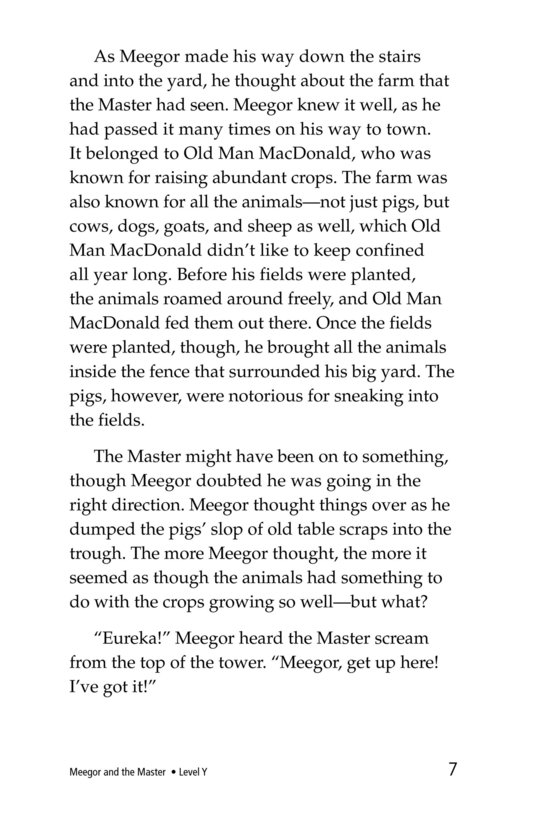 Book Preview For Meegor and the Master Page 7
