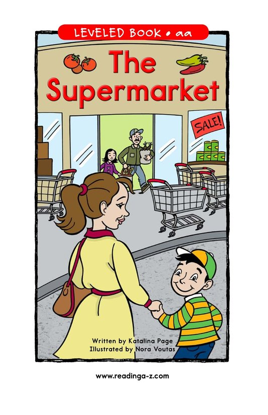 Book Preview For The Supermarket Page 1