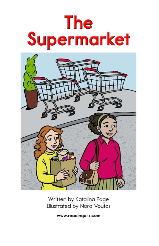 Book Preview For The Supermarket Page 2
