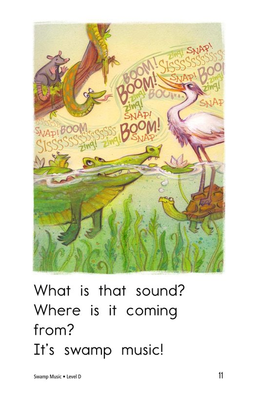 Book Preview For Swamp Music Page 11