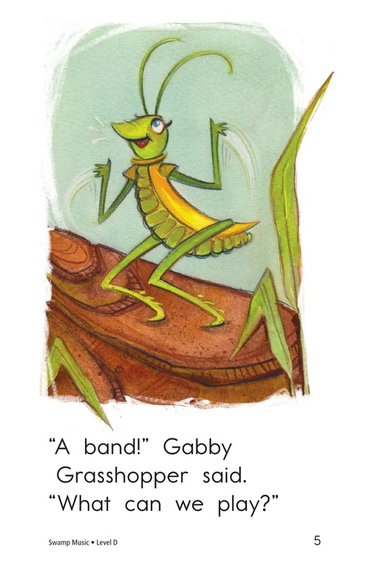 Book Preview For Swamp Music Page 5
