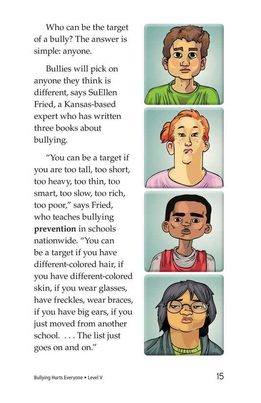 Book Preview For Bullying Hurts Everyone Page 15