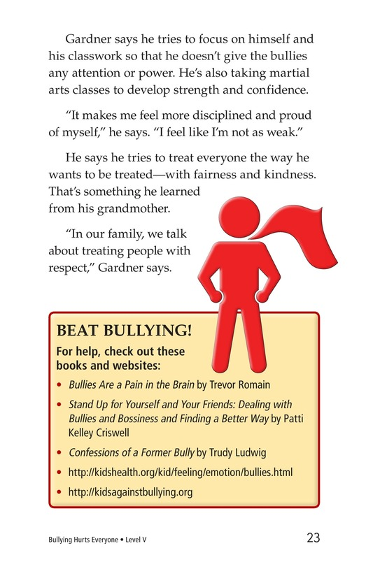 Book Preview For Bullying Hurts Everyone Page 23