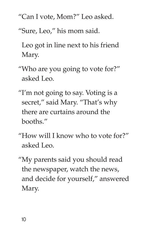 Book Preview For Can I Vote? Page 10