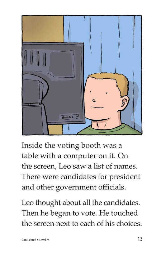 Book Preview For Can I Vote? Page 13