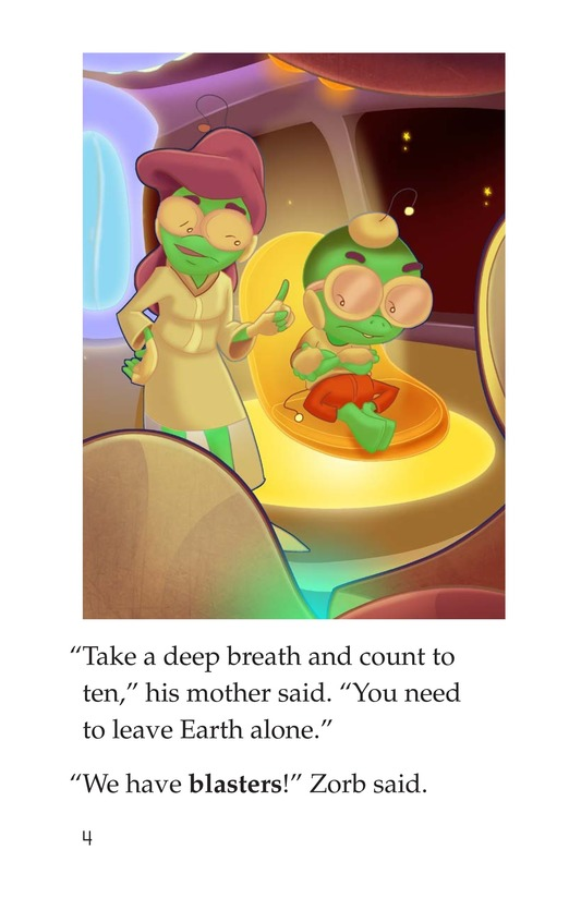Book Preview For Grounded to Earth Page 4