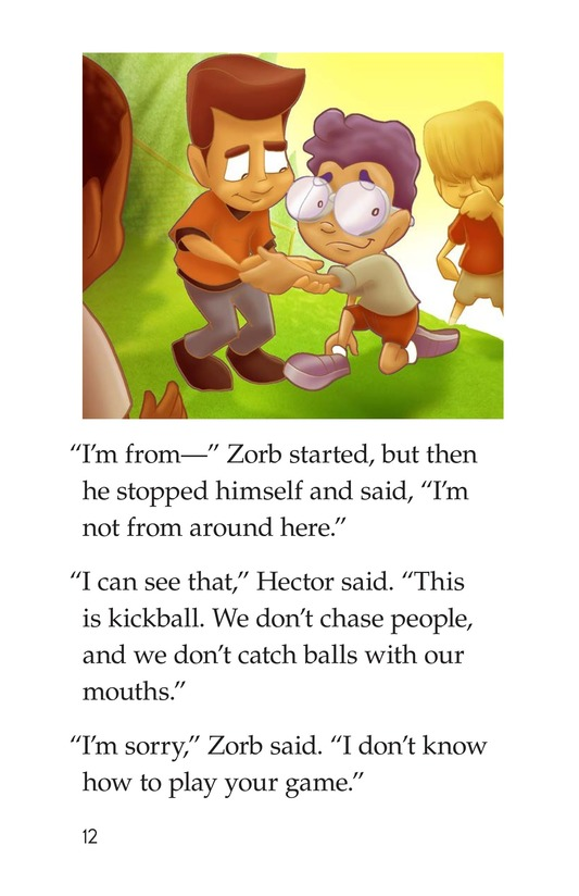 Book Preview For Grounded to Earth Page 12