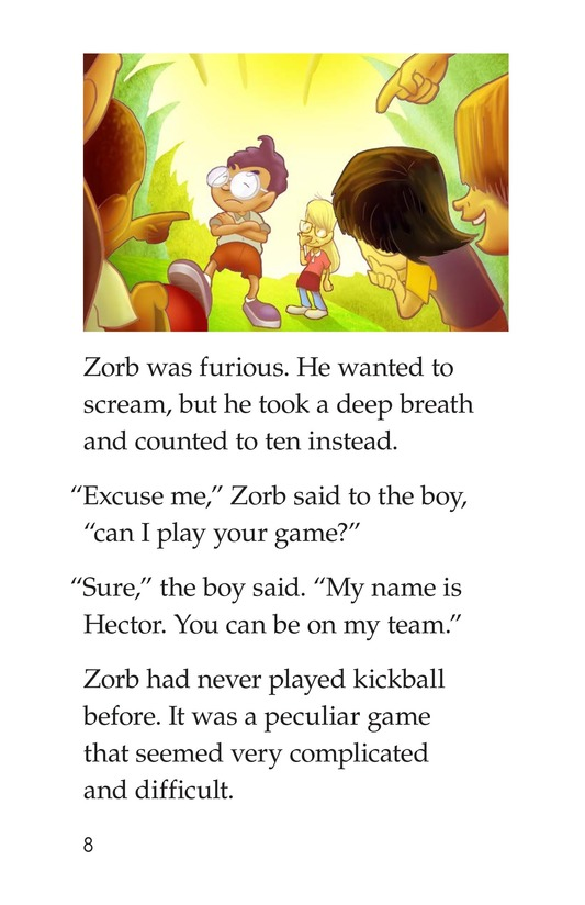 Book Preview For Grounded to Earth Page 8