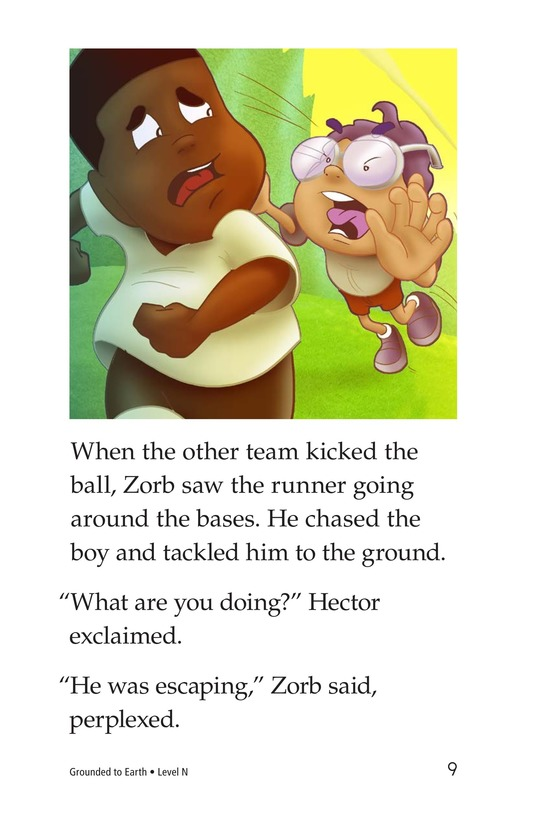 Book Preview For Grounded to Earth Page 9