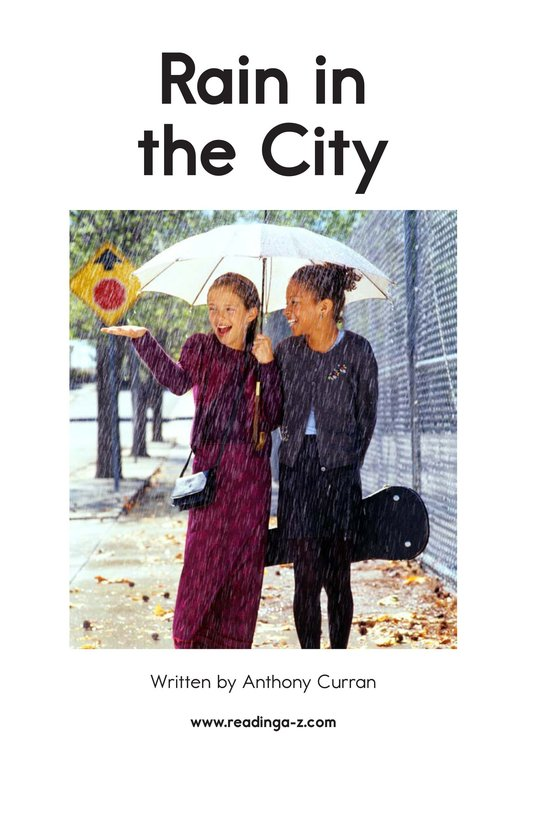 Book Preview For Rain in the City Page 2