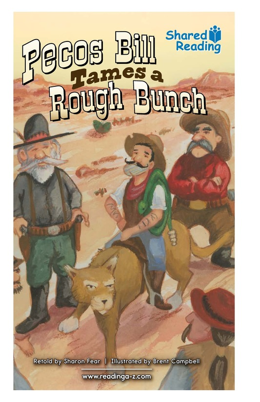 Book Preview For Pecos Bill Tames a Rough Bunch Page 1
