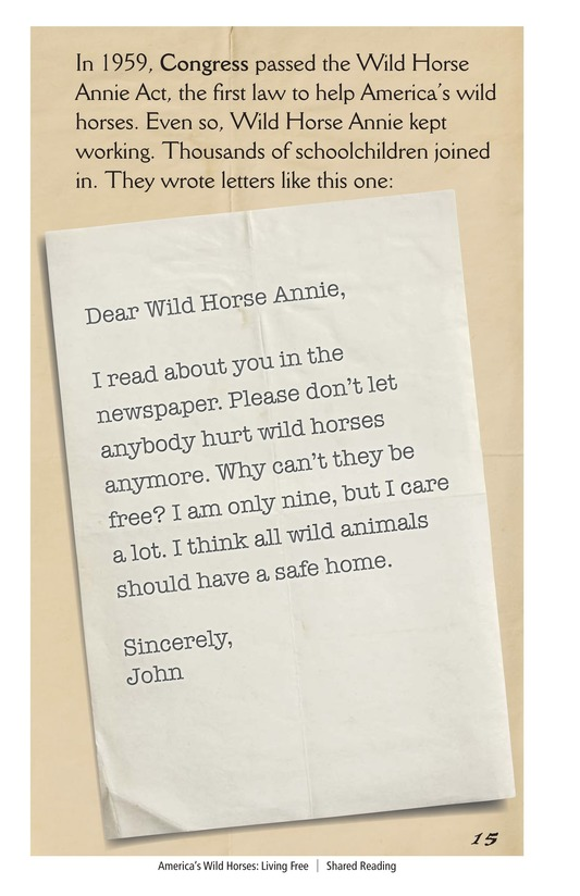 Book Preview For America's Wild Horses: Living Free Page 15