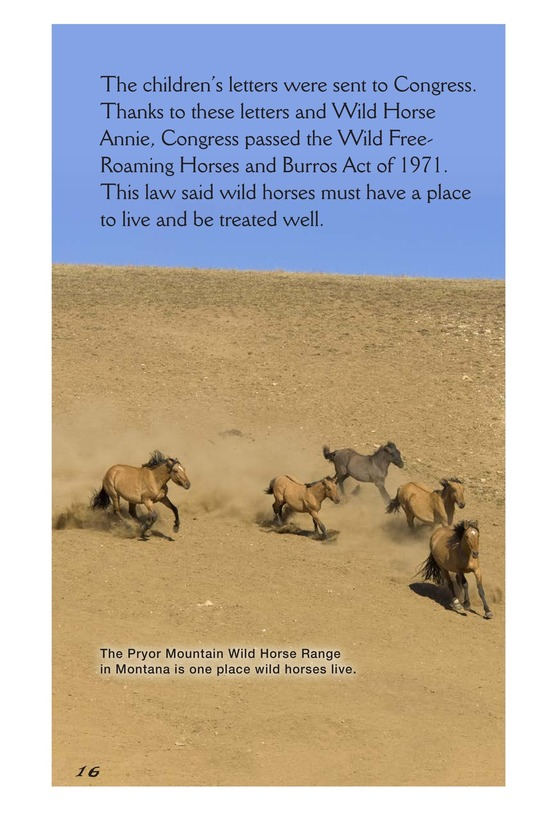 Book Preview For America's Wild Horses: Living Free Page 16