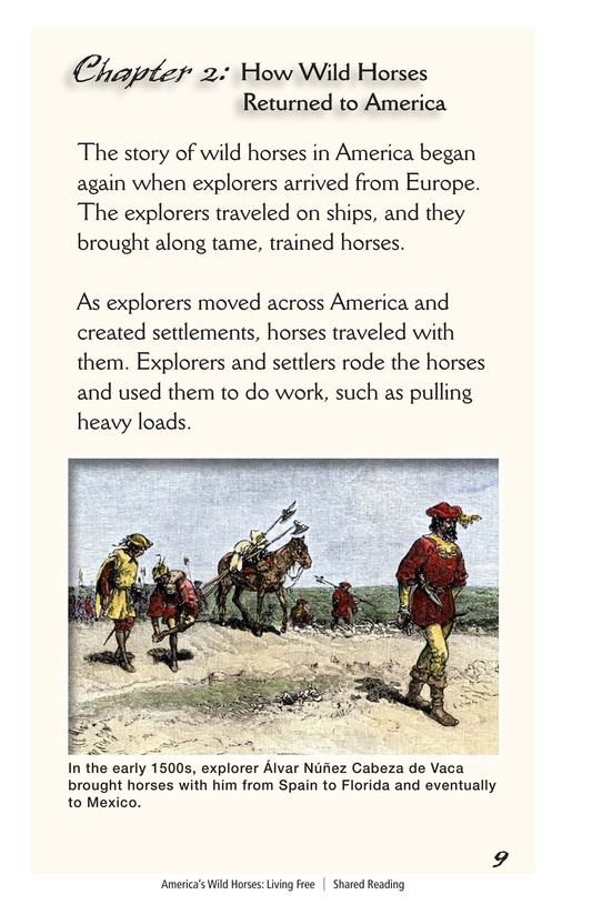 Book Preview For America's Wild Horses: Living Free Page 9
