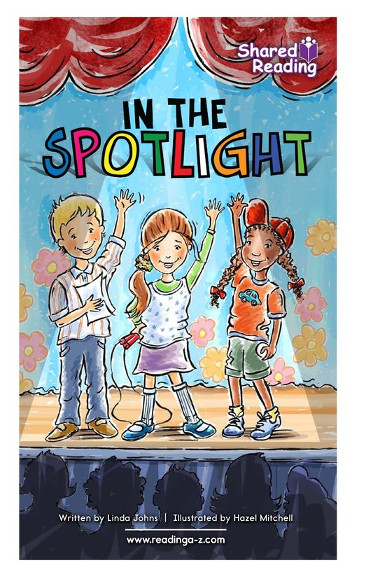 Book Preview For In the Spotlight Page 1