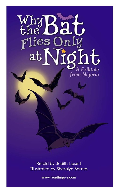 Book Preview For Why the Bat Flies Only at Night Page 2