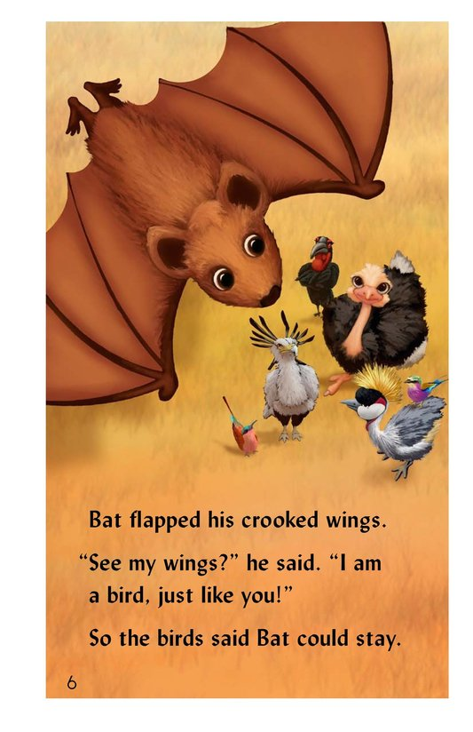 Book Preview For Why the Bat Flies Only at Night Page 6