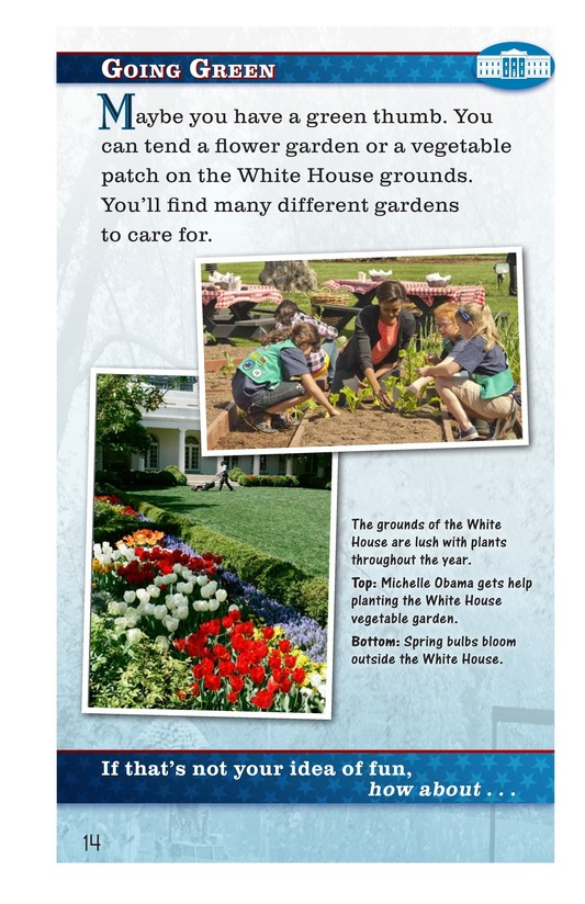Book Preview For How Do You Have Fun at the White House? Page 14