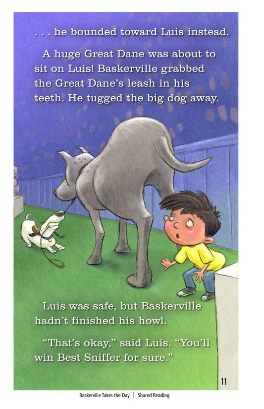 Book Preview For Baskerville Takes the Day Page 11