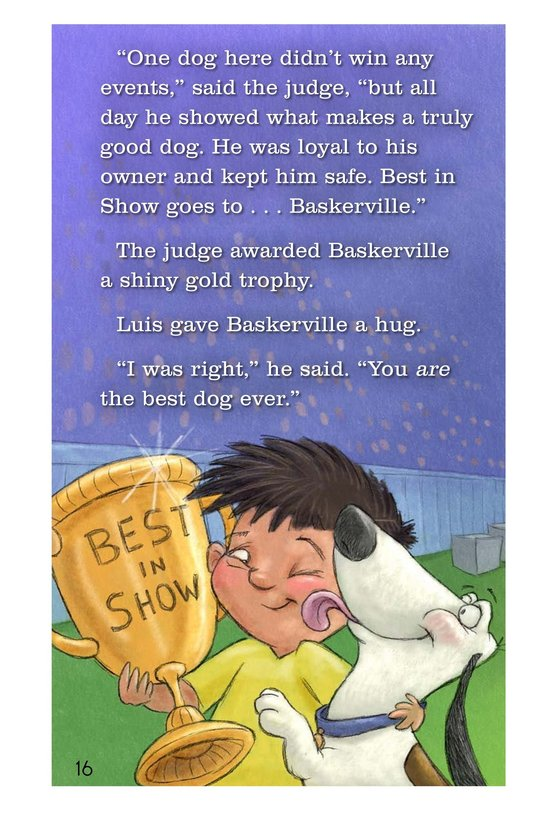 Book Preview For Baskerville Takes the Day Page 16