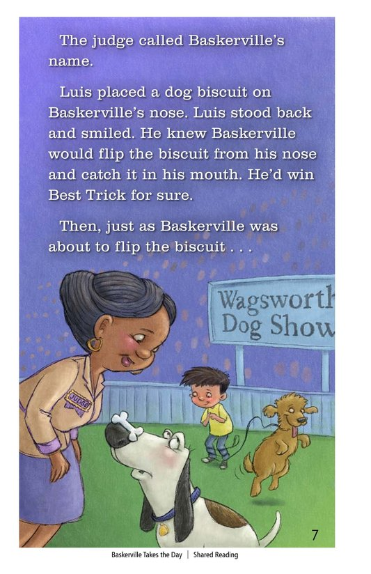 Book Preview For Baskerville Takes the Day Page 7