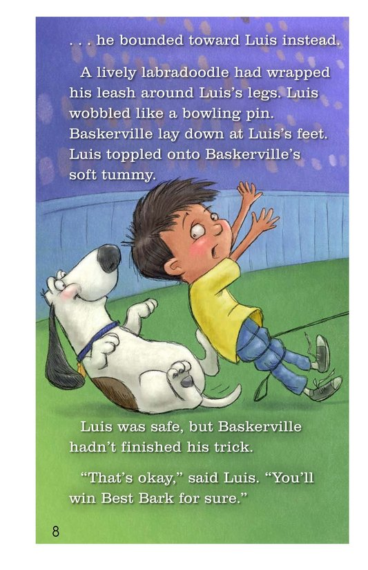 Book Preview For Baskerville Takes the Day Page 8