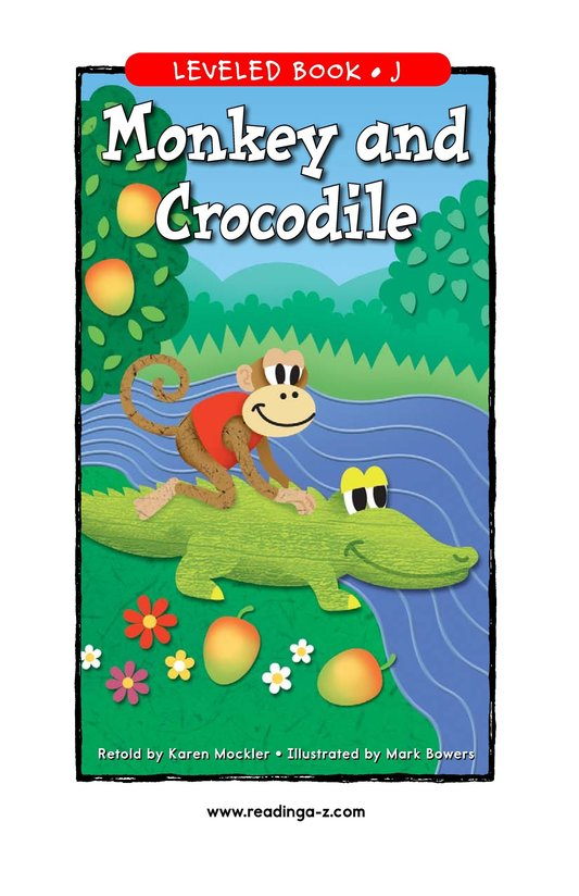 Book Preview For Monkey and Crocodile Page 1
