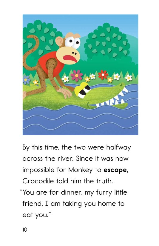 Book Preview For Monkey and Crocodile Page 10