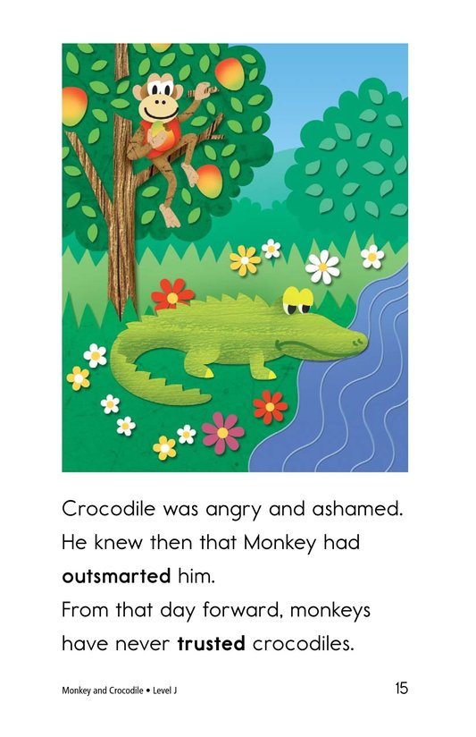 Book Preview For Monkey and Crocodile Page 15