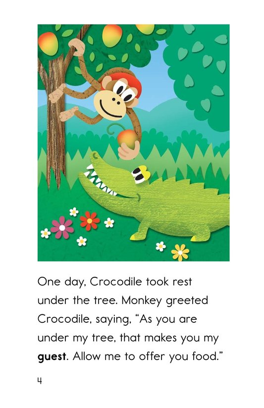 Book Preview For Monkey and Crocodile Page 4