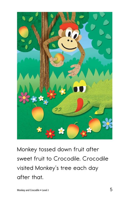 Book Preview For Monkey and Crocodile Page 5