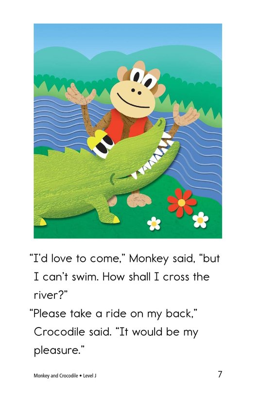 Book Preview For Monkey and Crocodile Page 7