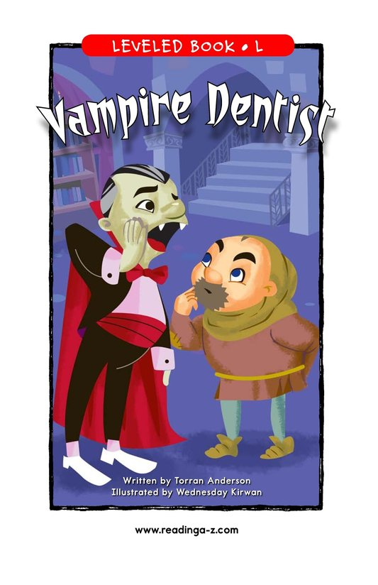 Book Preview For Vampire Dentist Page 1
