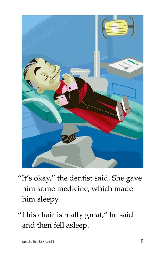 Book Preview For Vampire Dentist Page 11