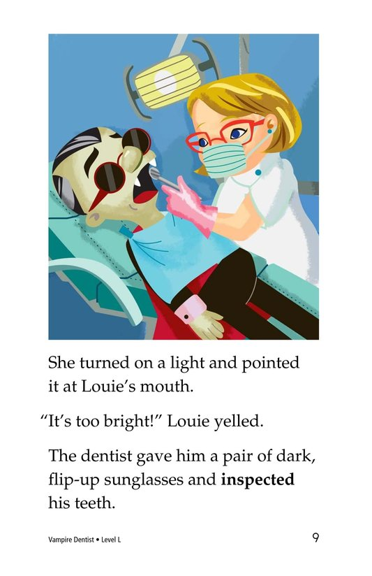 Book Preview For Vampire Dentist Page 9
