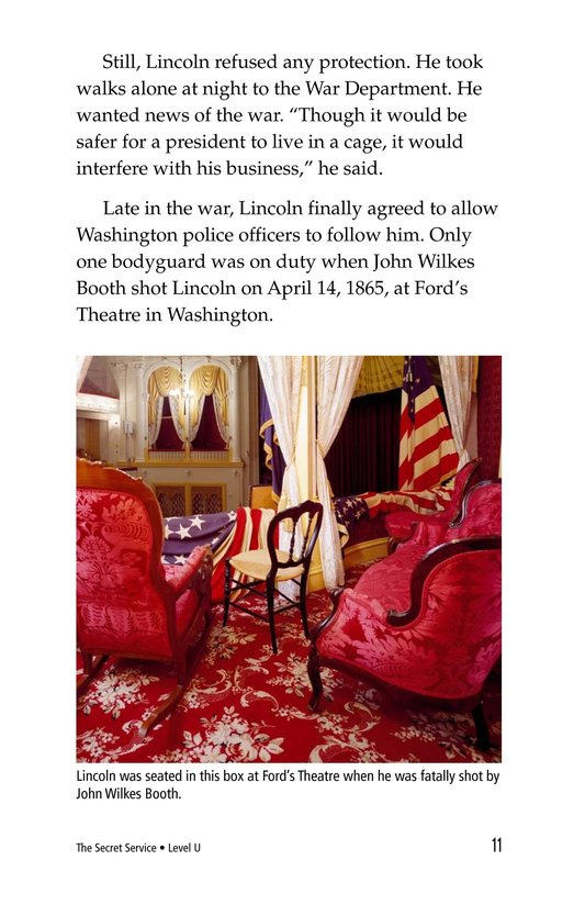 Book Preview For The Secret Service Page 11