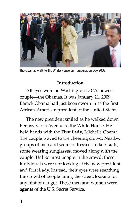 Book Preview For The Secret Service Page 4