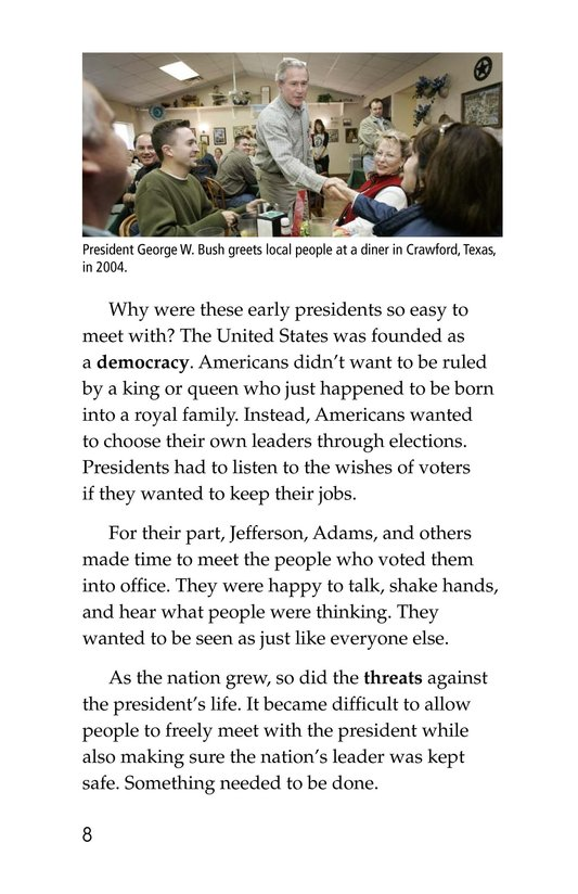 Book Preview For The Secret Service Page 8