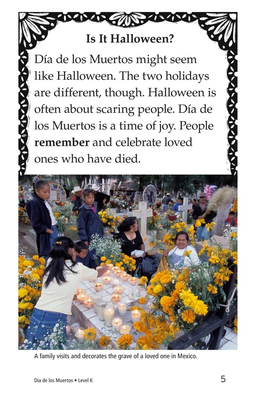 Book Preview For Día de los Muertos Page 5