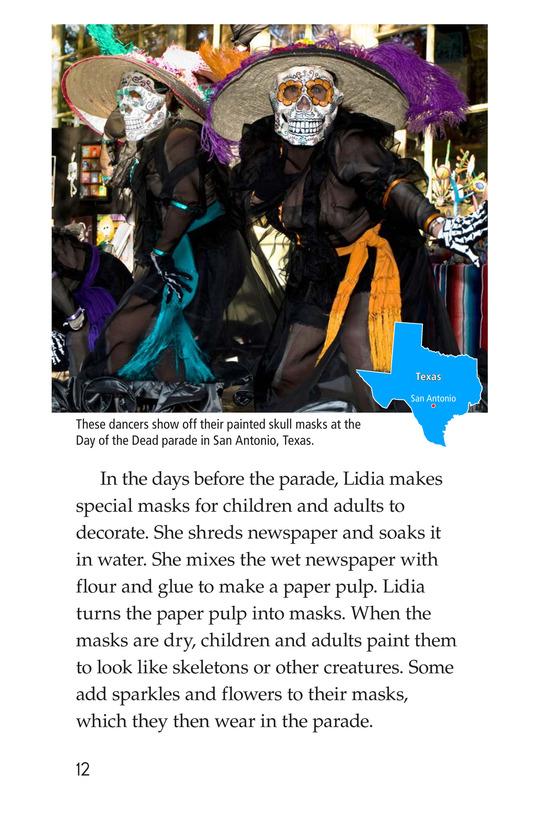 Book Preview For Día de los Muertos Page 12