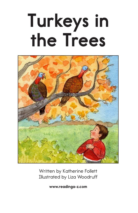 Book Preview For Turkeys in the Trees Page 1