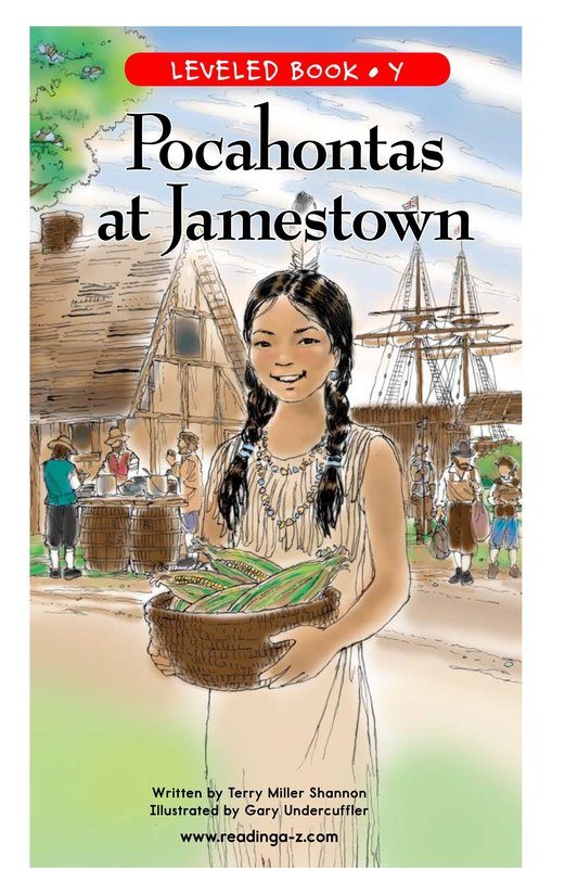 Book Preview For Pocahontas at Jamestown Page 1